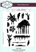 Creative Expressions - Tropical Grunge A5 Clear Stamp Set - CEC848